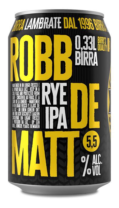 Birrificio Lambrate - Birra Robb De Matt