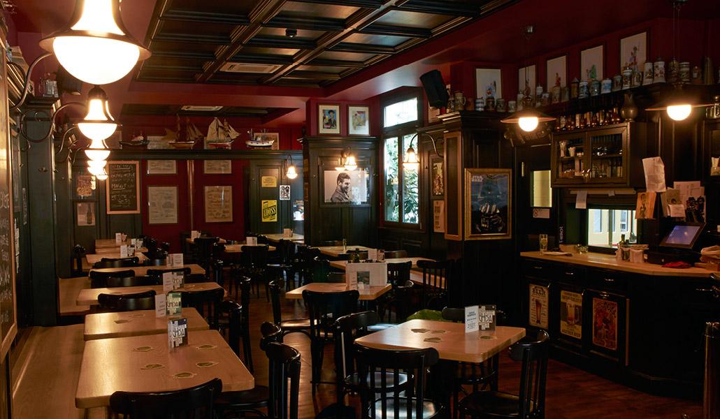 Bancone In Legno Per Pub : Pub ristorante birrificio lambrate