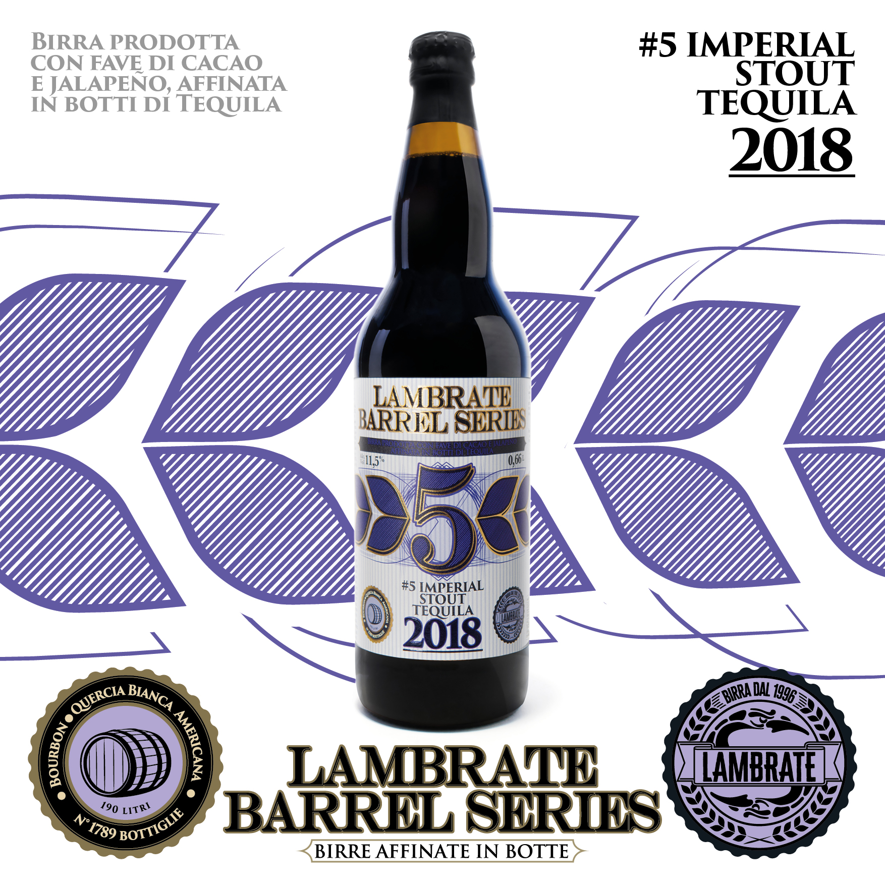6 - #5 IMPERIAL STOUT TEQUILA B.A. 2018 1